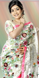 Exclusive White Jamdani Eid Collection 2014, Saree, Sharee, Sari, Bangladeshi Saree