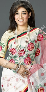 Jamdani Saree Dhakai Jamdani Saree, Eid Collection 2014, Saree, Sharee, Sari, Bangladeshi Saree