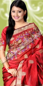 Exclusive Katan Eid Collection 2014, Saree, Sharee, Sari, Bangladeshi Saree, Katan Saree