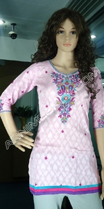 Tat Cotton Short Kameez