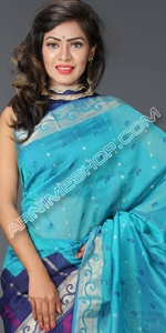 Multi Color Silk Sari